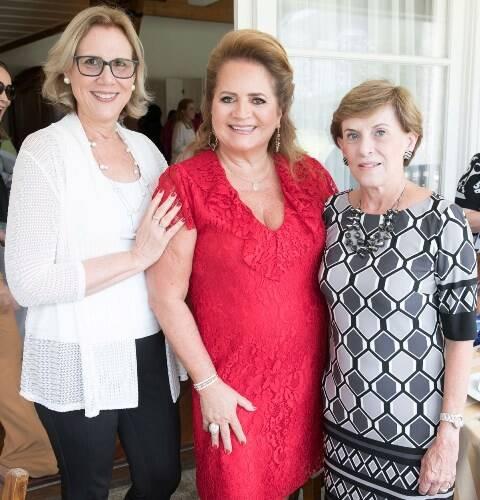 Sylvia Jane Crivella, Renata Fraga e Cecília Dornelles
