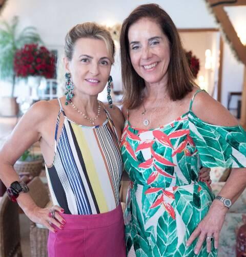 Teresa Simões e Maria Helena Carvalho