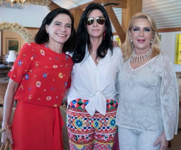 Valéria Arrigoni, Elda Monnerat e Ísis Panido