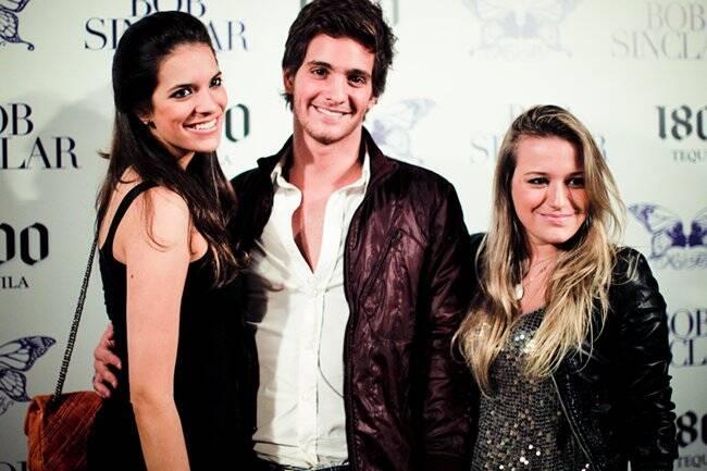 Daniela Diniz, Pedro Luchetti e Giulia Rogers