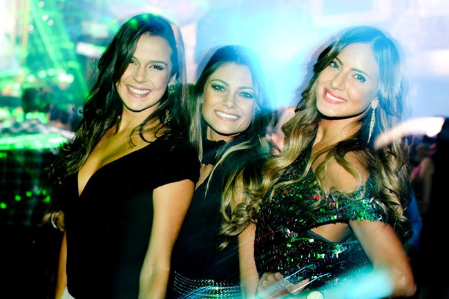 Renata Westpal, Karina Flores e Luisa Granatto