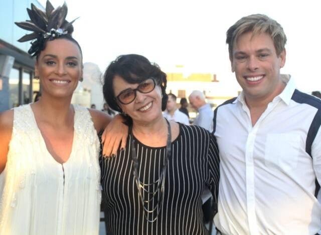 Suzana Pires, Nívea Maria e Bruno Chateaubriand