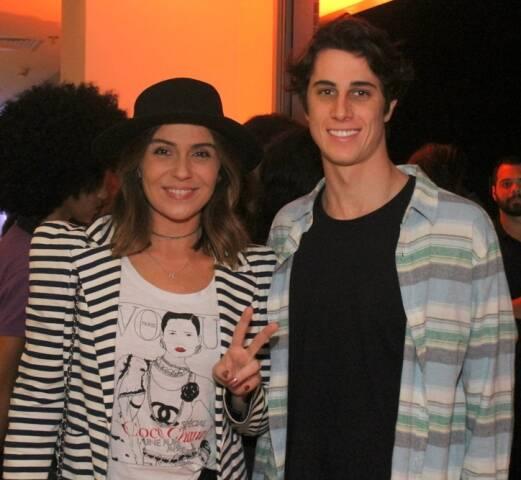 Giovanna Antonelli e Otávio Padoin