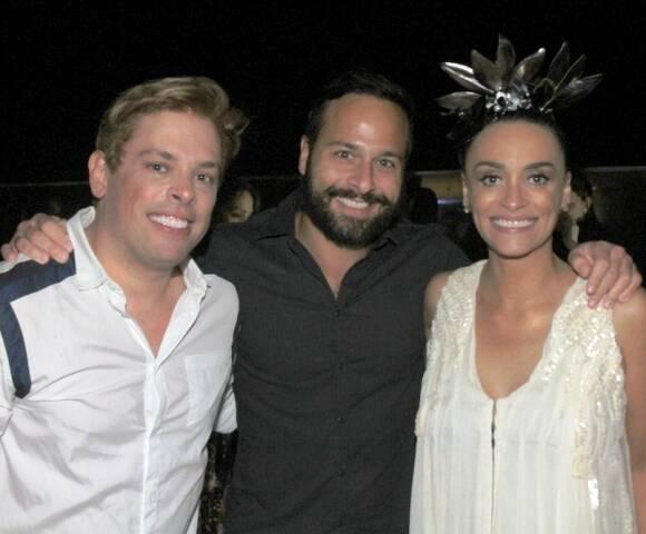 Bruno Chateaubriand, Marcelo Calero e Suzana Pires