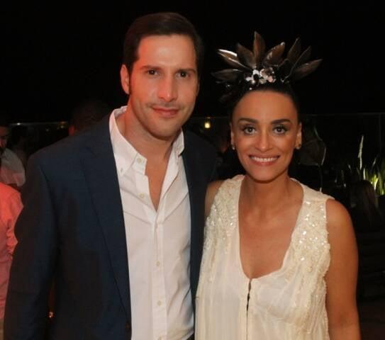 Thiago Teilelroit e Suzana Pires