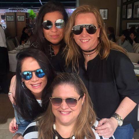 Cris Ferracciu, Lucinha Amorim, Karla Villar e Suzana Portella