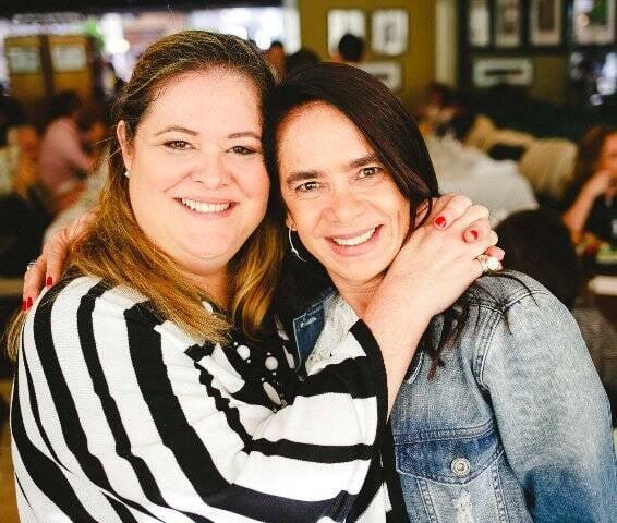 Suzana Portella e Karla Villar