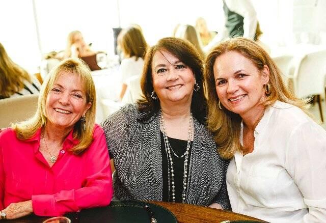 Thereza de Barros, Cynthia Fidalgo e Rossana Medeiros