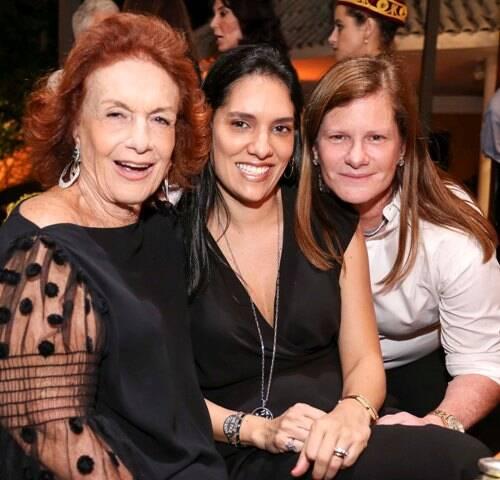Eliana Moura, Thais Araújo e Maria Geyer