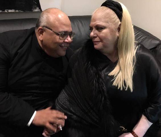 Padre Jorjão e Beth Winston