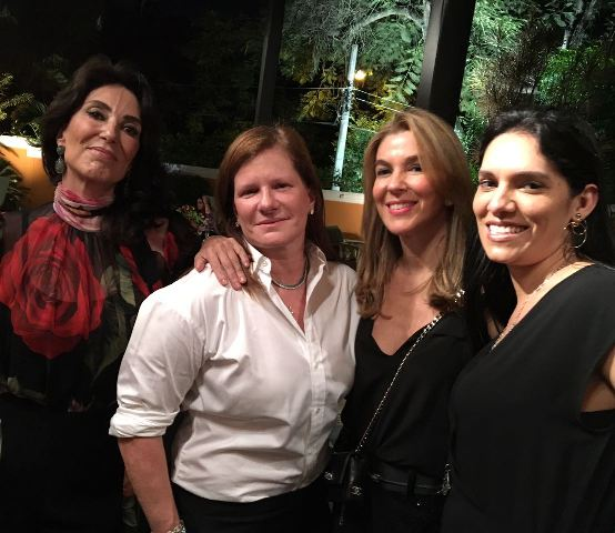 Isabela Lage, maria Geyer, Bete Floris e Thaís Araújo
