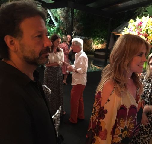 O casal Jorge Pontes e Lilibeth Monteiro de Carvalho