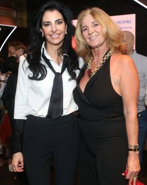 Antonia Frering e Simone Rodrigues