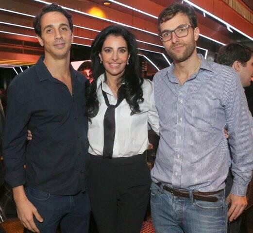 Gabriel Delfino Marques, Antonia Frering e Lorenzo Frering