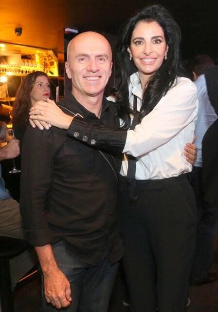 Gringo Cardia e Antonia Frering