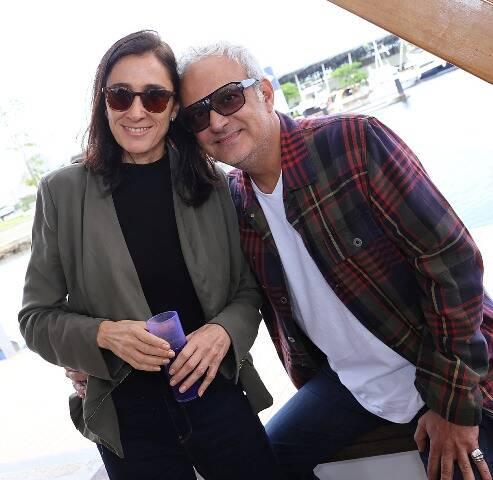 Gustavo Rebello e Daniele Scher