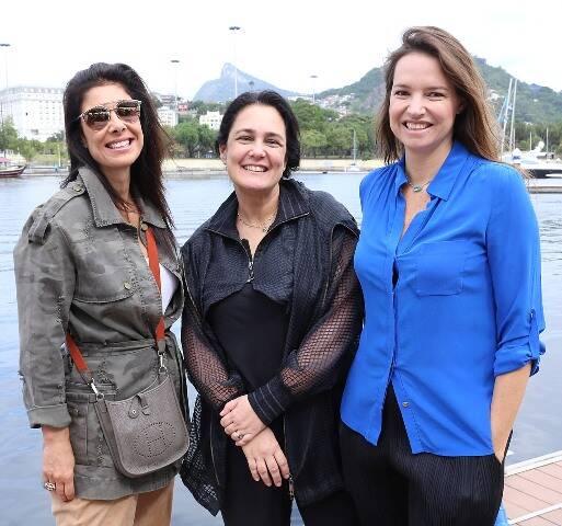 Patricia Brandão, Gabriela Lobato e Brenda Valansi
