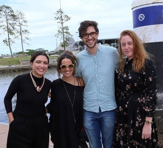 Mariana Auturi, Camila Tomé, Luiz Otávio Zampas e Ana Elisa Cohen