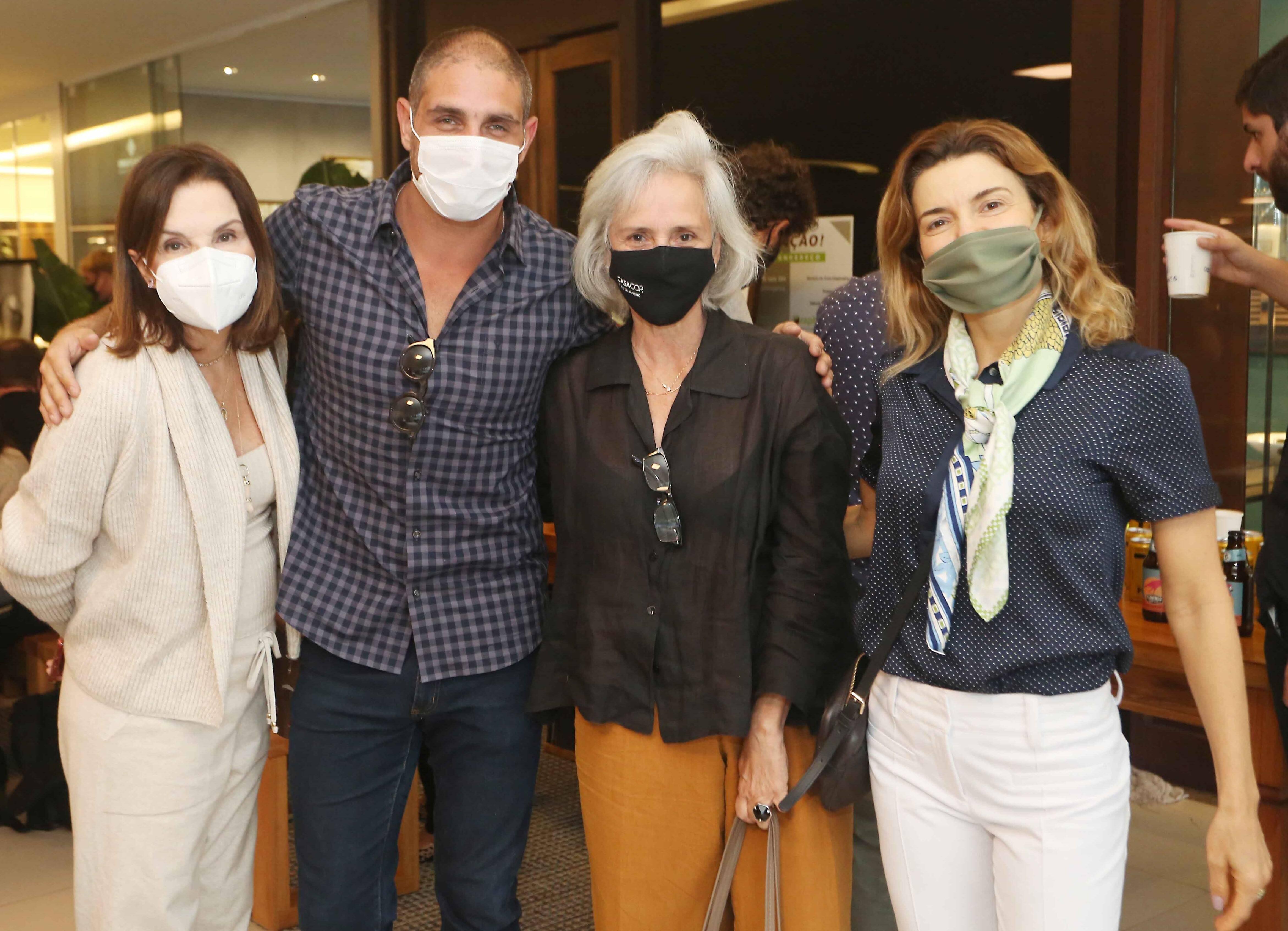 Patricia Mayer, Ari Kaye ,Patricia Quentel e Flavia Marcolini /Foto: Reginaldo Teixeira
