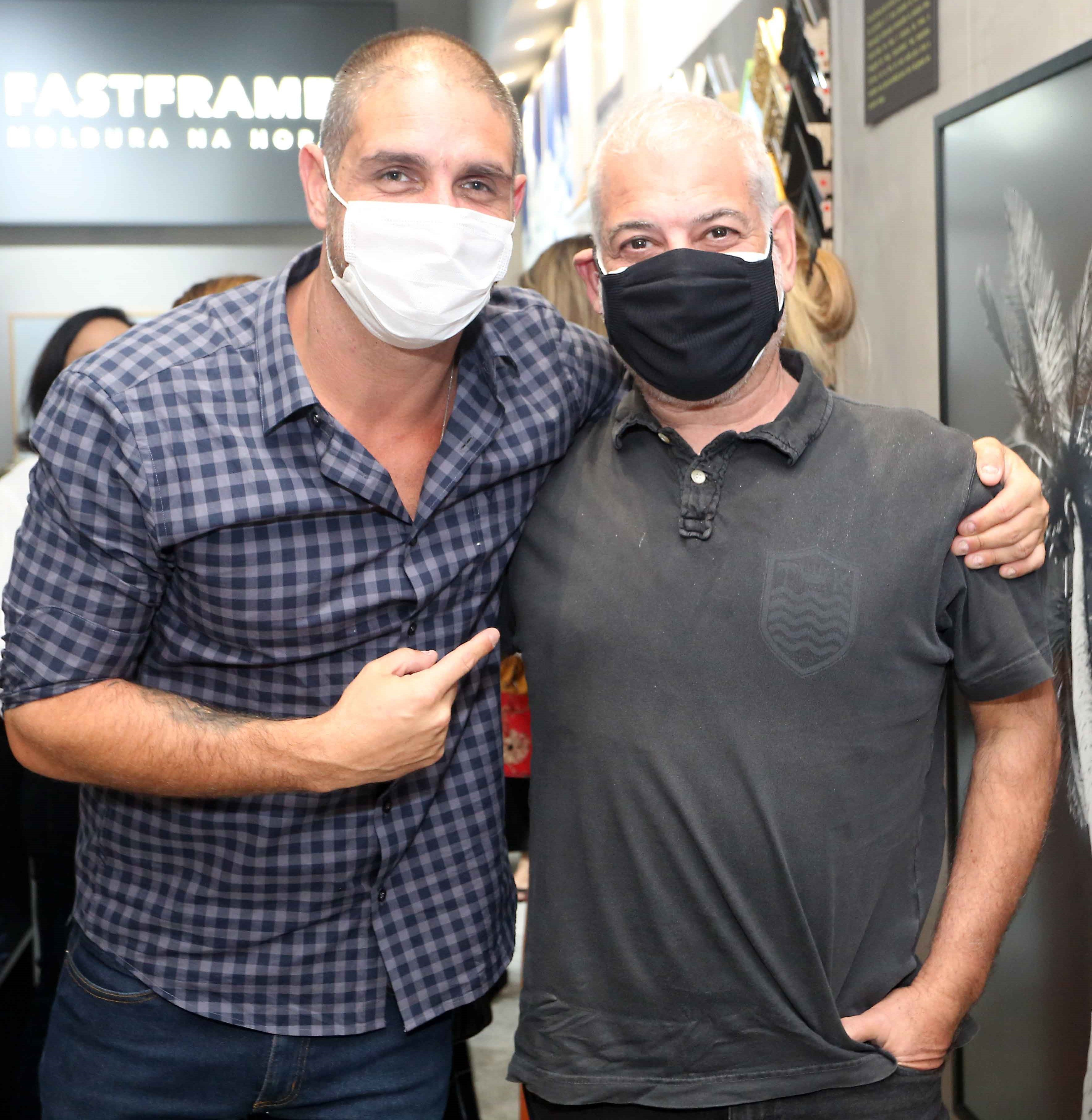 Ari Kaye e Mauricio Nobrega /Foto: Reginaldo Teixeira
