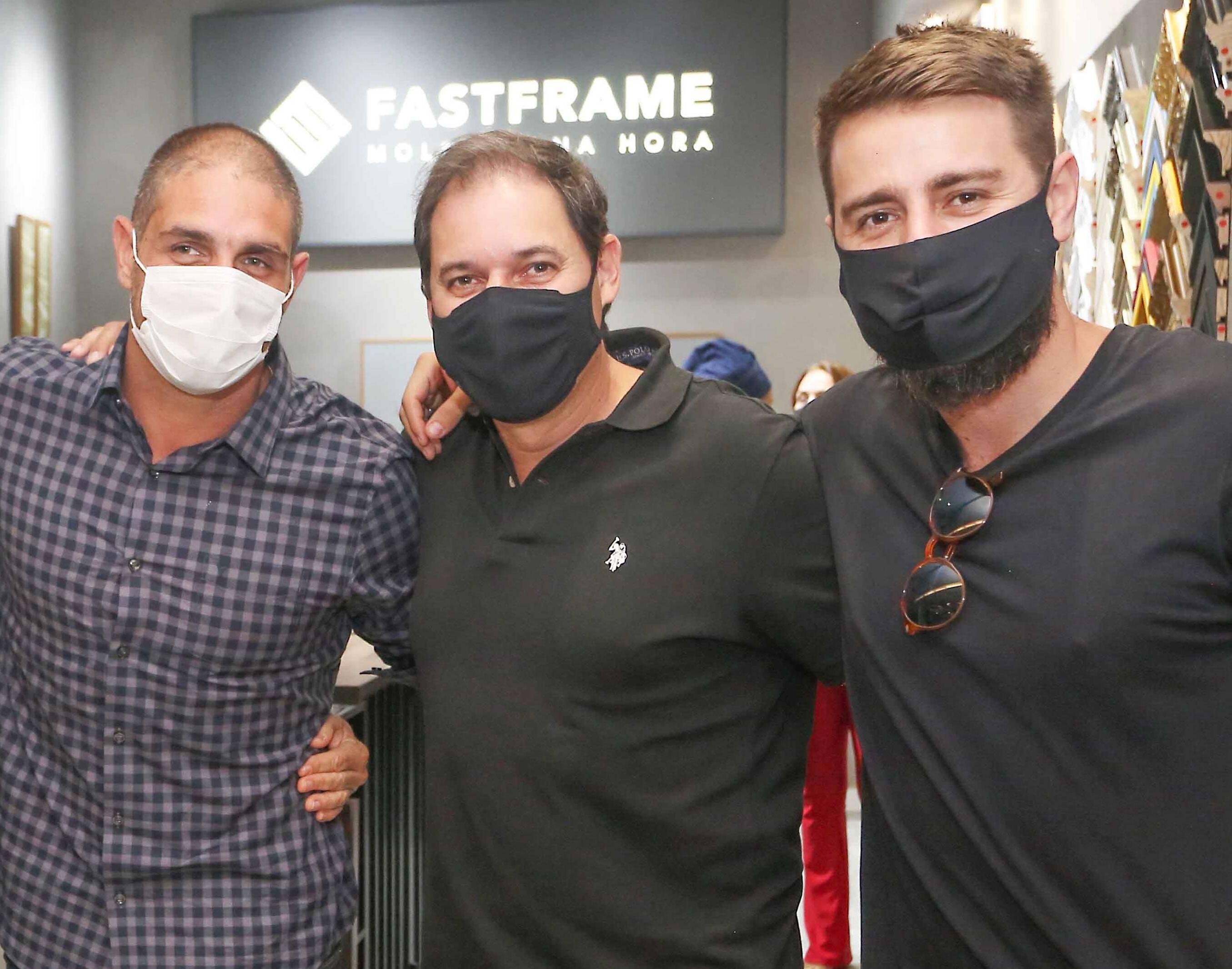 Ari Kaye, Rodolfo Moraes e Pedro Benoliel /Foto: Reginaldo Teixeira