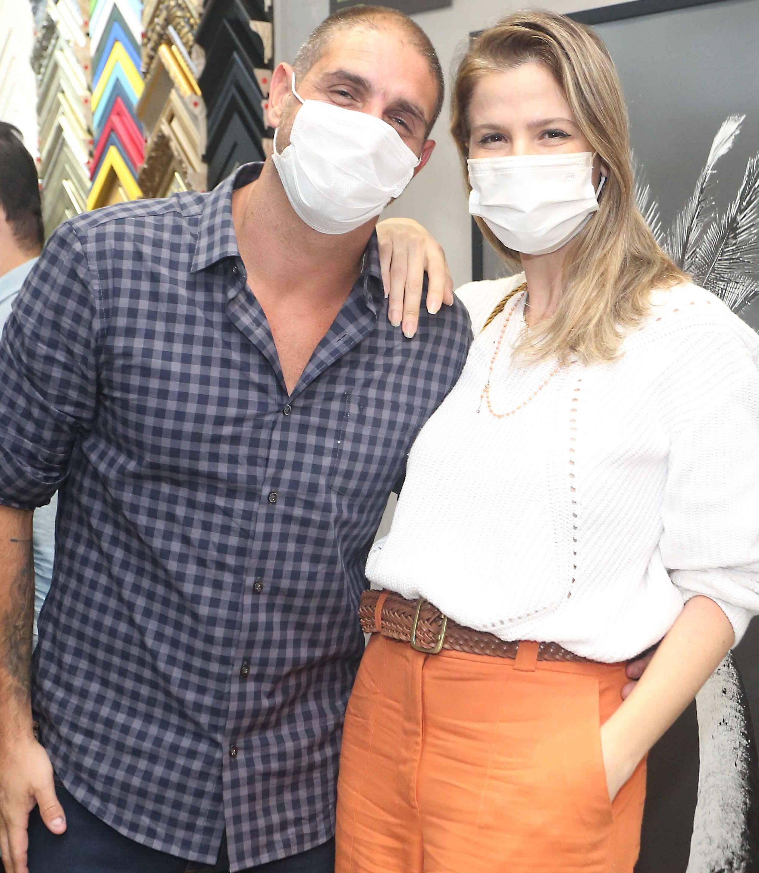 Ari Kaye e Larissa Allemand /Foto: Reginaldo Teixeira
