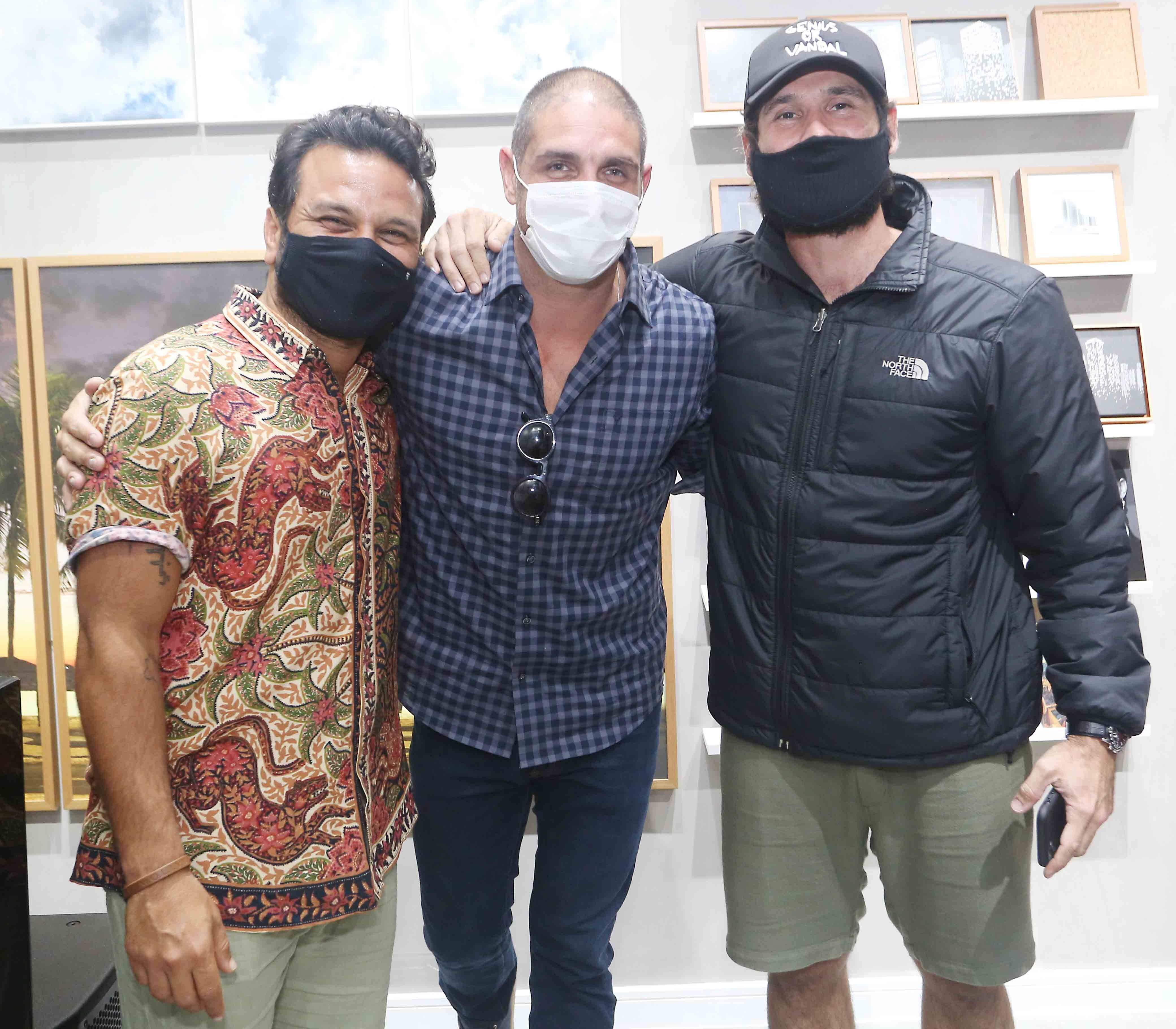 Pedro Salomão, Ari Kaye e Dudu Azevedo /Foto: Reginaldo Teixeira