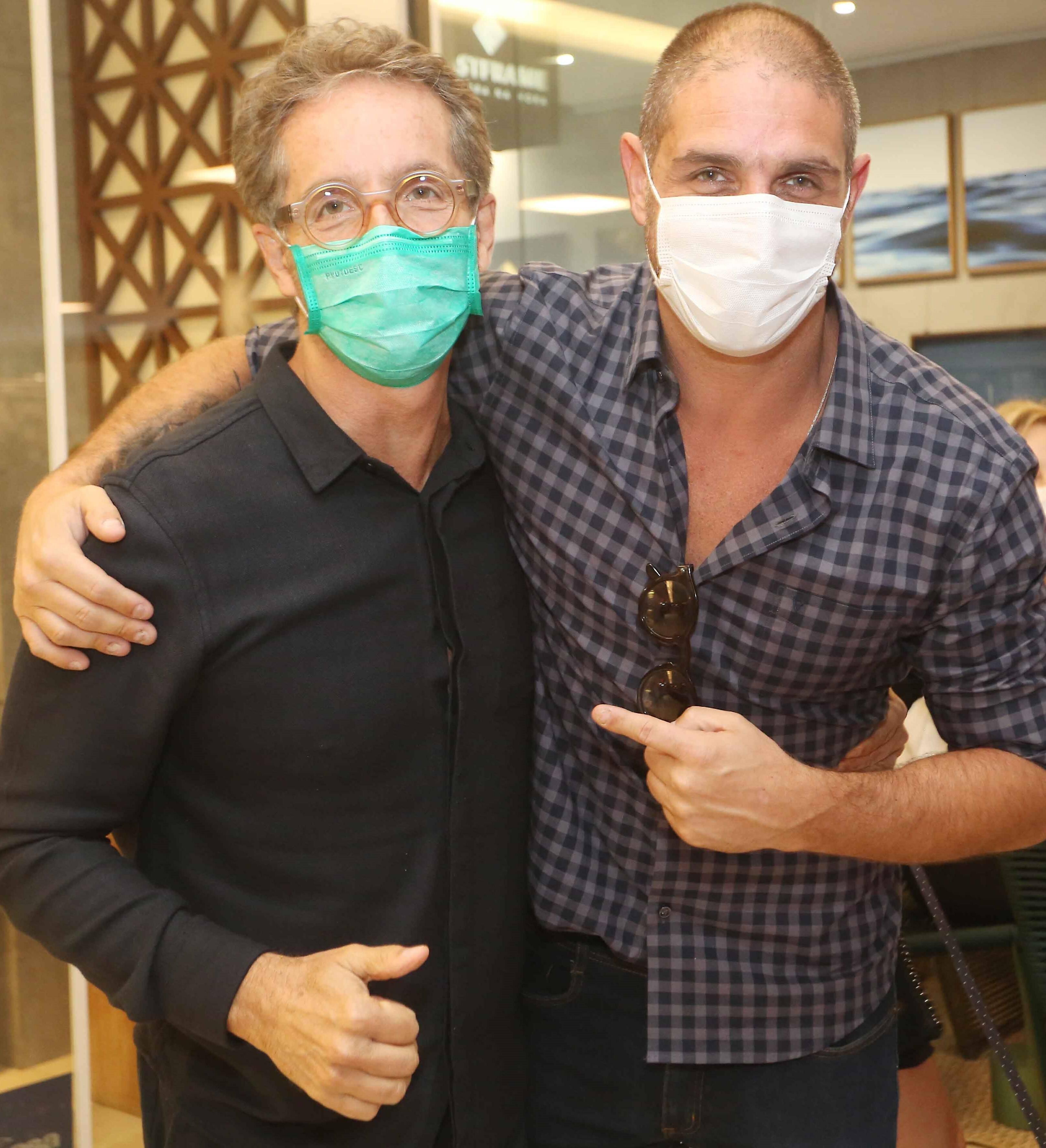 Pedro Guimarães e Ari Kaye /Foto: Reginaldo Teixeira