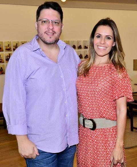 Leonardo Pascual e Tatiana Lopes