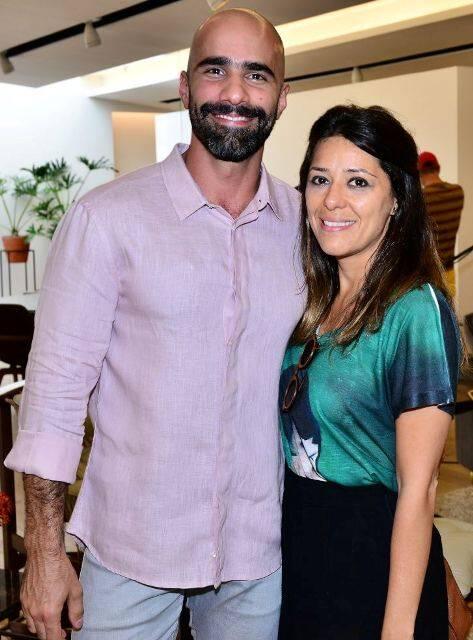 Fernando Pellegrino e Natasha Frota