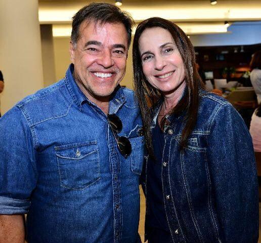 Rogério Antunes e Mila Albuquerque