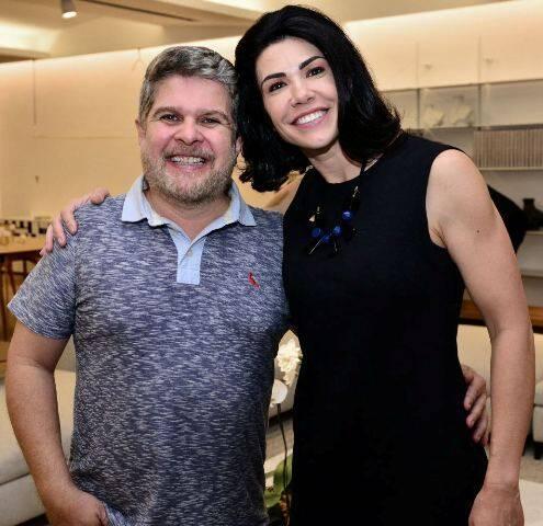 Anderson Macedo e Maura Bittencourt