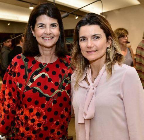 Viviane Grabowsky e Flávia Marcolini