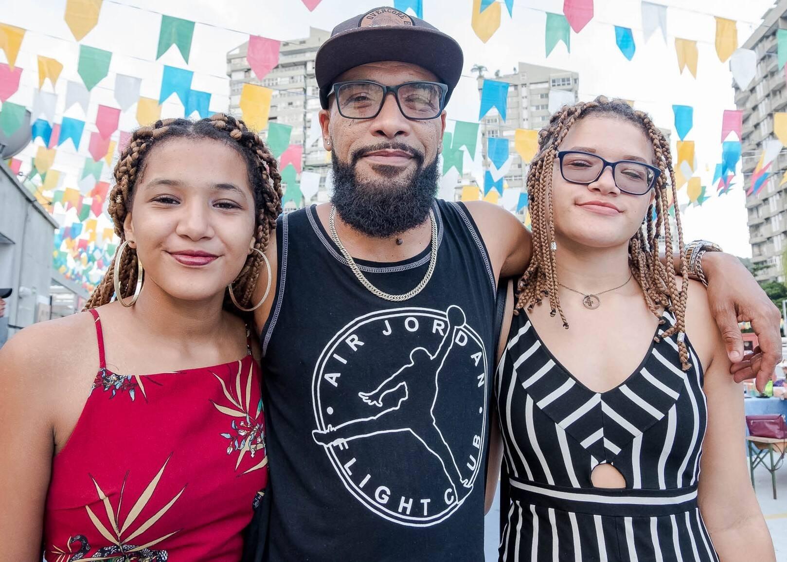 Adrielle Ribeiro, Alexandro Maia e Alexandra Ribeiro /Foto: Renato Wrobel