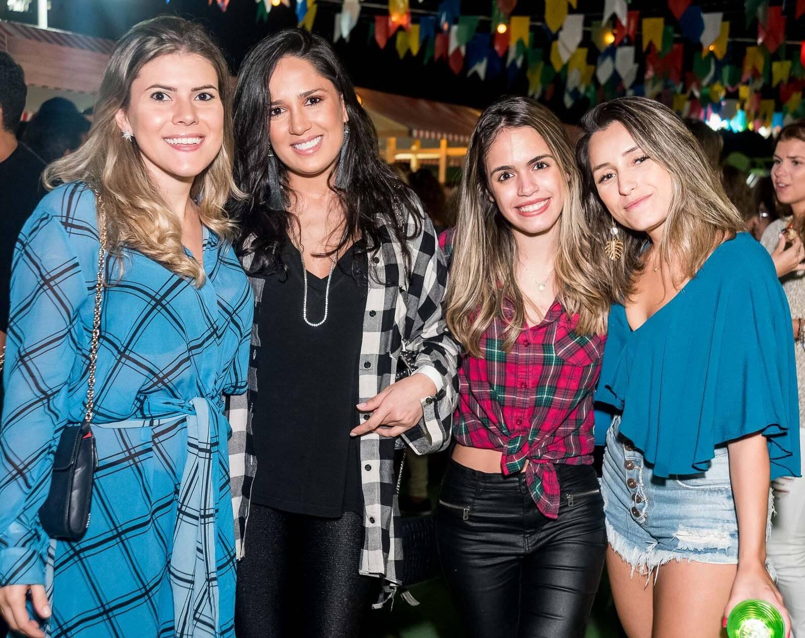 Anna Speroni, Marjorie Egypto, Rafaela Muller e Clara Quintas /Foto: Renato Wrobel