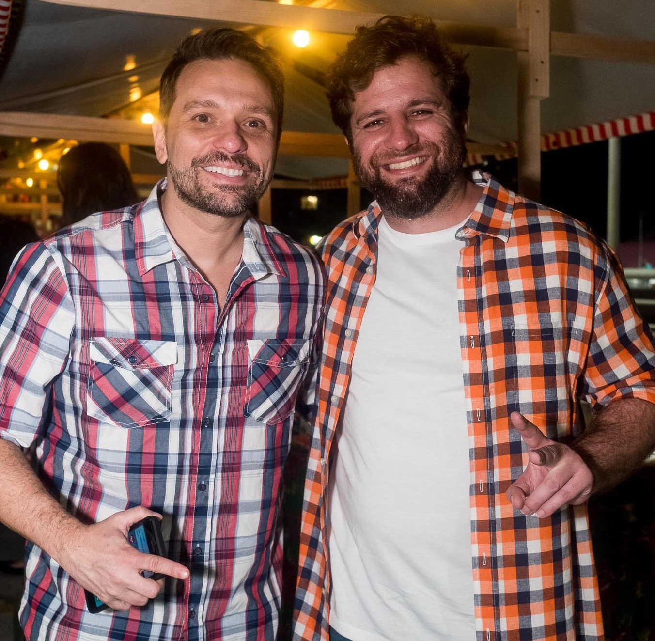 Bruno Vivaldi e André Barros /Foto: Renato Wrobel