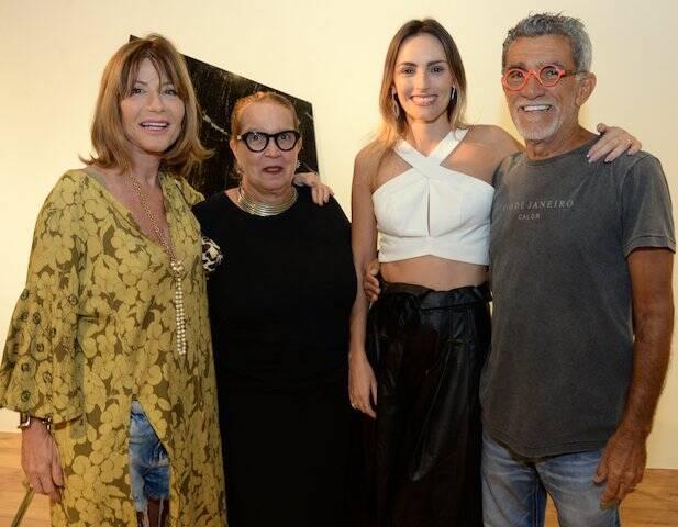 Cheila Campos, Beth Nabuco, Marina Ribas e Ricardo Campos