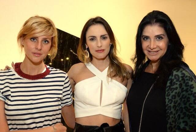 Claudia Shebe, Marina Ribas e Gilza Velloso