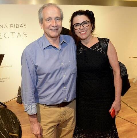 Fernando Valente e Anita Guimarães