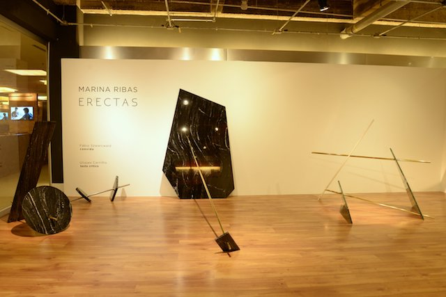 Parte da instalação feita pela artista plástica Marina Ribas