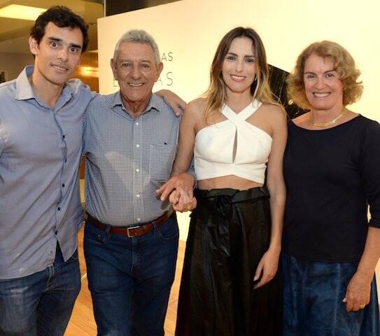 Pedro Ribas, Paulo Ribas, Marina Ribas e Tuna di Prinzio