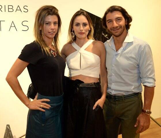 Tatiana Zukerman, Marina Ribas e Fábio Szwarcwald