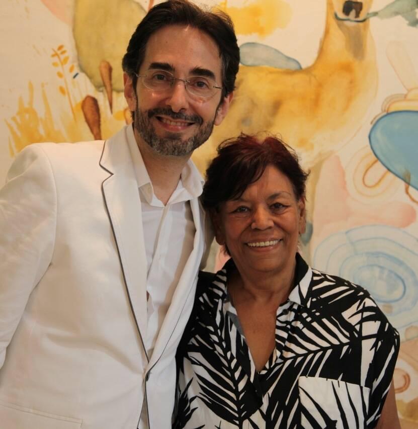 Alexandre Murucci e Lúcia Laguna