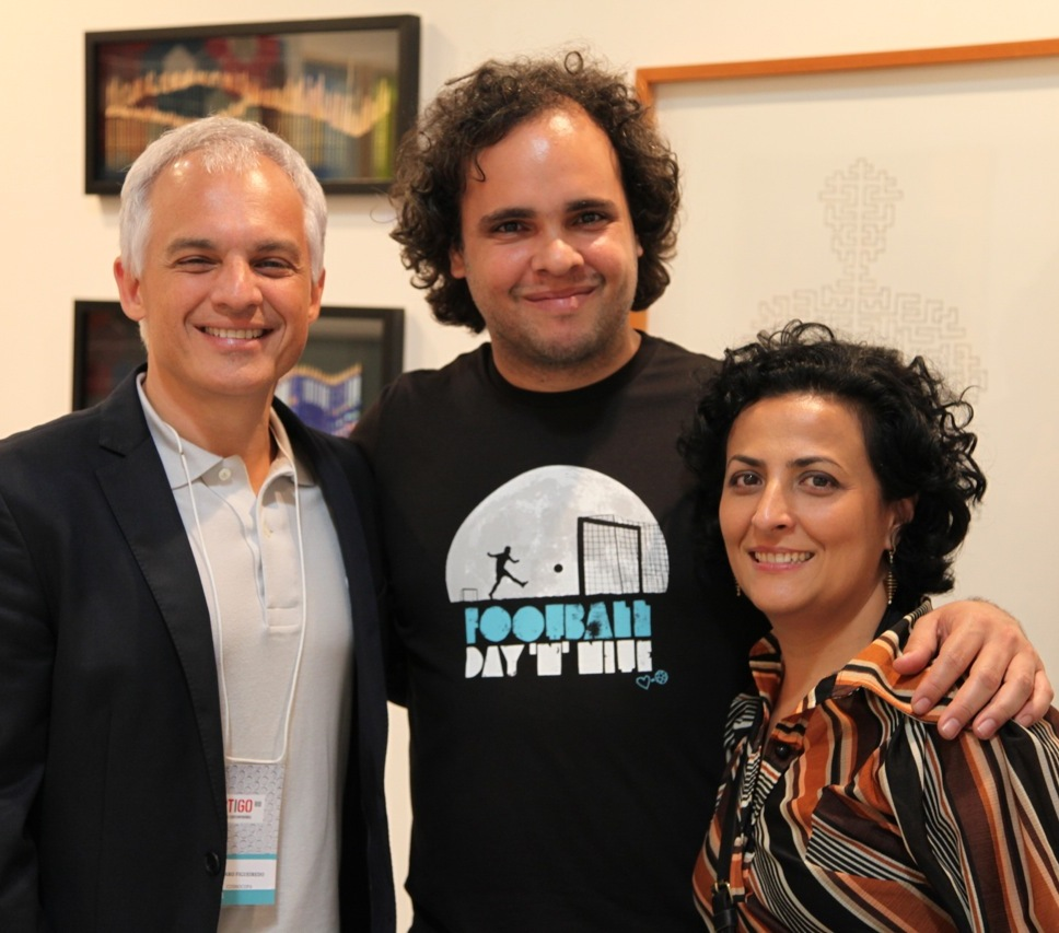 Álvaro Figueiredo, Felipe Barbosa e Rosana Ricalde