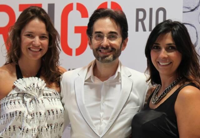 Brenda Valansi, Alexandre Murucci e Elisangela Valadares