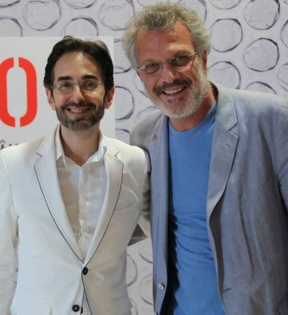 Alexandre Murucci e Pedro Bial