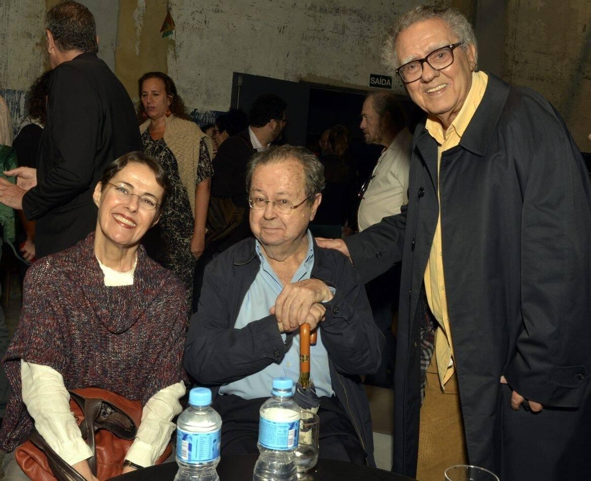 Ana de Hollanda,  Francisco Weffort e Luiz Carlos Barreto /Foto: Cristina Granato
