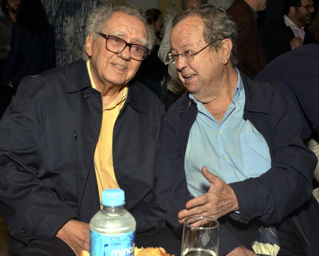 Luiz Carlos Barreto e Francisco Weffort /Foto: Cristina Granato