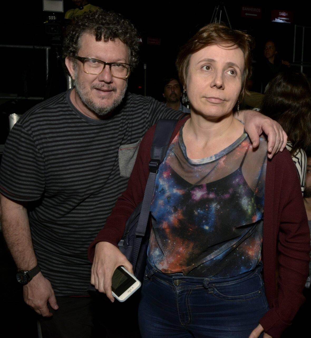 Paulo de Moraes e Patricia Selonk  /Foto: Cristina Granato