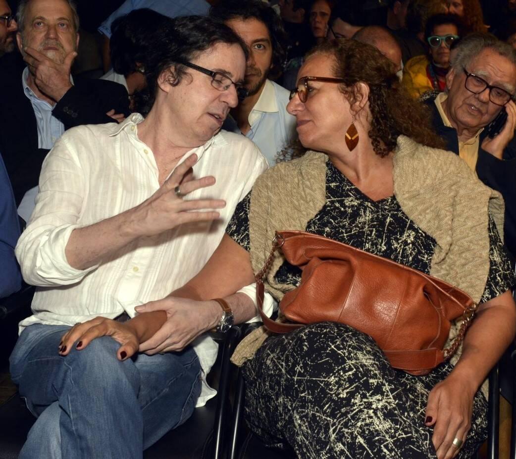 Geraldinho Carneiro e Jandira Feghali /Foto: Cristina Granato